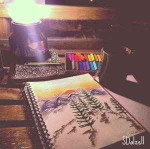 Relaxing Sketch
